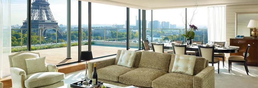 hôtel de luxe au coeur de Paris